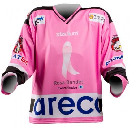 Hockey Matchtröja (Rosa bandet Malmö)