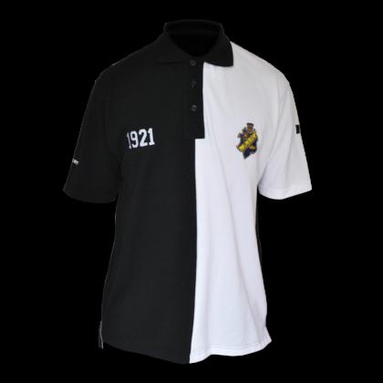 Polo shirt (half & half)