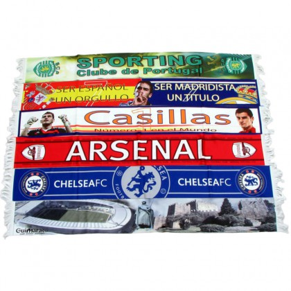 Scarf sublimated