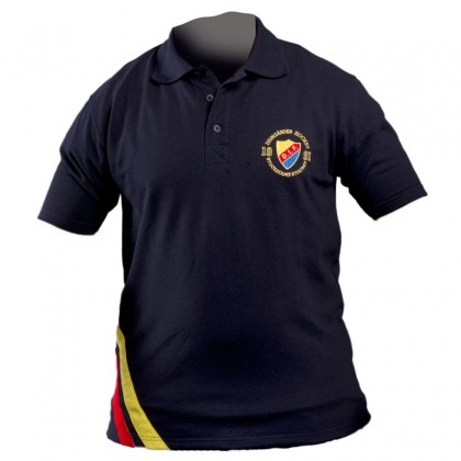Polo shirt navy (flag)