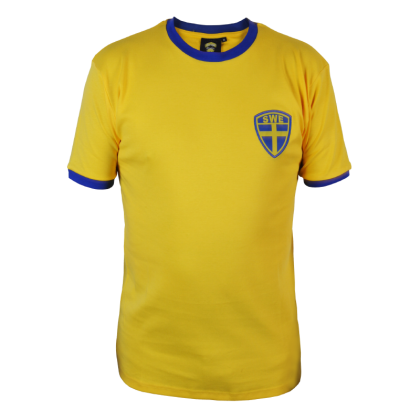 Sverige gul T-shirt
