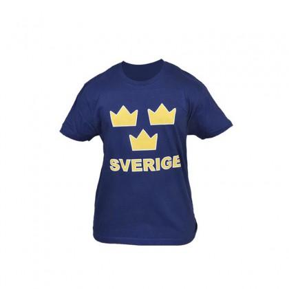 SWE T-shirt Tre Kronor blå
